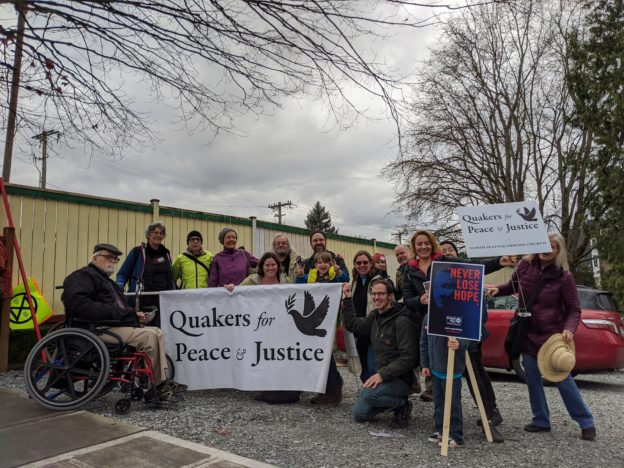 Quakers at MLK March Seattle